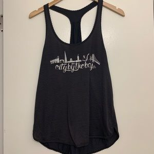 Rare LuluLemon City by the Bay Tank Top